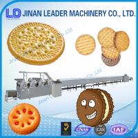 Buy cheap Industries High efficiency soft waffle biscuit food Production line from wholesalers