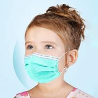 Buy cheap Small Children'S Disposable Face Masks With High Filtration Capacity from wholesalers