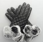 Buy cheap warm-keeping women sheepskin leather gloves from wholesalers