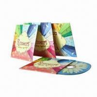 Buy cheap Cardboard CD Sleeves with Full-Color Printing and Matte/Glossy Lamination Finished from wholesalers