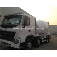 Buy cheap Sinotruk Howo A7 8×4 Concrete Agitator Truck With 371hp Engine And One Bed from wholesalers