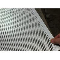 Buy cheap Hot Dipped Perforated Galvanised Sheet, Perforated Steel PlateFor Stair Tread from wholesalers