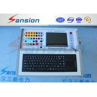 Buy cheap Auto Adapt Relay Protection Tester , High Precision Relay Test Equipment from wholesalers