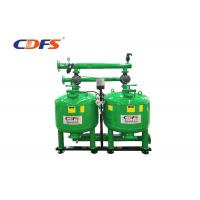 Buy cheap Manual Auto Backwash Sand Filter , Green Pressure Sand Filter Water Treatment  from wholesalers
