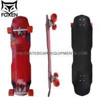 China Fashion design 2 Wheel Drifting Skateboard ,Red color canadian maple 38.65*9.5skateboards on sale