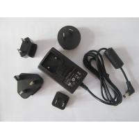 Buy cheap Interchangeable plug power adapter 12V 1A AC/DC switching power supply with EU,UK,AU,USA from wholesalers