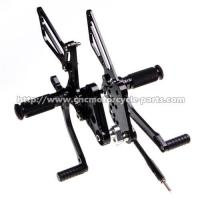 Buy cheap Dust Resistant Suzuki GSXR Rearsets , Motorcycle Adjustable Rearsets GSXR from wholesalers