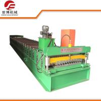 Buy cheap 380V Roller Shutter Door Forming Machine With Double Hydraulic Control Cutter from wholesalers