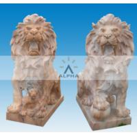 Buy cheap Garden Marble Lions Statues from wholesalers
