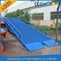 Buy cheap Adjustable Loading Dock Ramp,  Warehouse Container Loading Mobile Dock Ramp from wholesalers