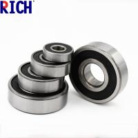 Buy cheap Brass Cage Dust Cover Ball Bearing 6200 , Low Noise Diesel Engine Bearings from wholesalers