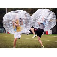 Buy cheap Clear Body Zorb Ball Bubble Football , Plastic Zorb Ball Soccer BBP-180 from wholesalers