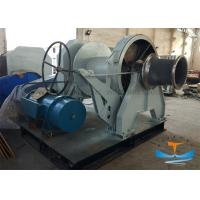 Buy cheap 30T One Drum Marine Electric Winch 38mm Mooring Winch With One Warping Head from wholesalers