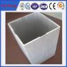 Buy cheap 6063 t5 extruded aluminum profiles prices factory / Aluminium square tubular from wholesalers