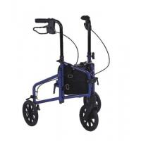 Buy cheap Aluminum Rollator transport chair walker with 4 wheel, loop brakest, shopping bag 930mm from wholesalers
