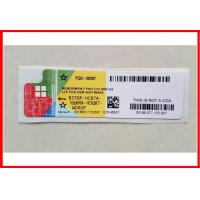 Custom International COA License Sticker Windows 10 Pro OEM License Key