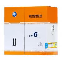Buy cheap Cat 6 Cable Pass Test Pure Copper 24awg 2pr 4pr 305m 1000ft 0.56 Utp Cat6 Indoor Cable from wholesalers