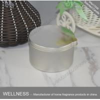 Buy cheap Simple Design Scented Tin Candles Pillar Shaped With No Petro Soot Emissions product