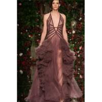 Buy cheap 11p148 Sexy v-neck straped front short lace longtail evening dress from wholesalers