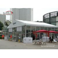 Buy cheap 10x10m Exhibition Glass Wall Tent , Outdoor Event Tents with UV-resistant from wholesalers