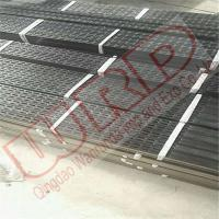 Buy cheap 100x40x3mm x L:3000mm Punshed holes Rectangular steel tube with natural perforated surface from wholesalers