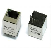 Buy cheap outdoor shielded ethernet PCB RJ45 connector with EMI for computer cables from wholesalers