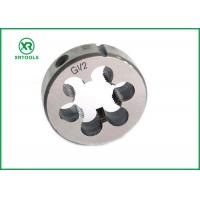 Buy cheap DIN 5158 Thread Cutting Dies , G Hand Metric Thread Die Bright Surface from wholesalers
