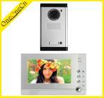 Buy cheap 7'' LCD Wire Intercom Video Door phone Metal outdoor unit for villa OC313211 from wholesalers
