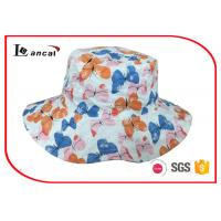 Buy cheap Reversible outdoor custom sun hat with wide brim and sheeting lining from wholesalers