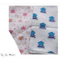 Buy cheap 100% Bamboo or Organic Cotton Washable Baby Muslin,Gauze Diapers from wholesalers