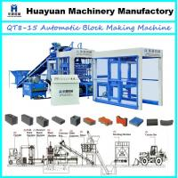 China 2013 Newly high capacity of fly ash brick making machine QT8-15 fly ash brick making machine in india price on sale
