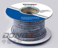 Buy cheap Carbonized Fibre Braided Packing with PTFE dispersion and lubricant from wholesalers