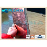 Buy cheap Copper Veneer Attached Aluminum Honeycomb Panels Moistureproof Energy Saving from wholesalers