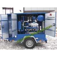 Buy cheap Three Phase Vacuum Transformer Oil Purifier, oil filtration machine, Mobile type purification unit from wholesalers