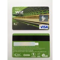 Buy cheap Famous printing machine VISA Smart Card debit magstrip card for bank from wholesalers