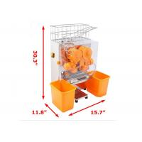 Buy cheap Pro Auto Feed Automatic Orange Juicer Machine Citrus Juice Machine Transparent Plastic from wholesalers