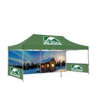 Buy cheap Hexagon Trade Show Pop Up Tents 4X8 Portable Folding Type Space Saving from wholesalers