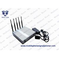 Buy cheap WiFi 3G 4G Cell Phone Scrambler 2400 - 2500MHz Compact Design CE Certificated from wholesalers