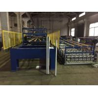 Buy cheap Color Coating Coil Material PU Sandwich Panel Production Line Driven Power 7.5 KW product
