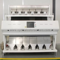 Buy cheap High Capacity Rice CCD Camera Color Sorter With High Accuracy Intelligent Operation System from wholesalers