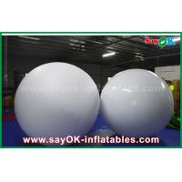 Buy cheap LED Lighting Inflatable Balloon 0.2mm PVC Throwing Ball For Vocal Concert / Event from wholesalers
