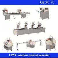 uPVC Windows Production Line Door Frame Profile Extrusion Machine