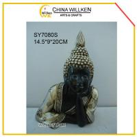 Buy cheap Resin Cute Happy Buddha Statue for Home Decoration from wholesalers