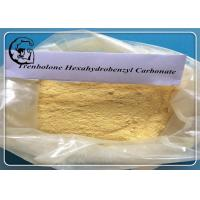 Buy cheap Parabolan Trenbolone Yellow Trenbolone Hexahydrobenzyl Carbonate Powder from wholesalers