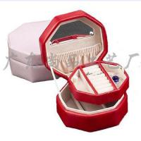 Buy cheap Artificial Leather Jewelry Box/ Trinket Box from wholesalers