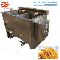 Buy cheap 2 Basket Gas Deep Fryer Double Basket Fried Chicken Machine Suppliers 2 Basket Deep Fryer for Commercial Use from wholesalers
