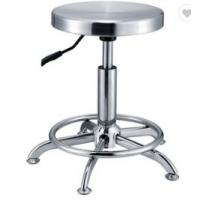 Buy cheap Round Swivel Stainless Steel Lab Stool L36*W36*H46 Anti - Ultraviolet Water Proof from wholesalers