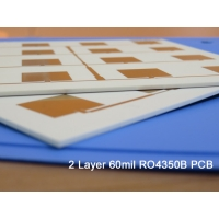 Buy cheap Rogers PCB Manufacture   High Frequency PCB 60mil 1.524mm with immersion gold RO4350B RF Circuit Board Patch Antenna PCB from wholesalers