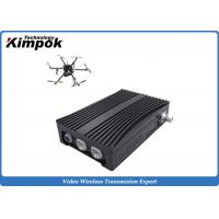 Buy cheap Portable COFDM Transceiver Self-managing Network IP Mesh for UAV / Helicopter from wholesalers