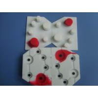 Buy cheap LCD silicone keypad embossed metal dome and numeric keyboard for telephone equipment from wholesalers